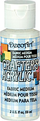 Медиум для тканей - акрил Crafter's, DecoArt, 59 мл